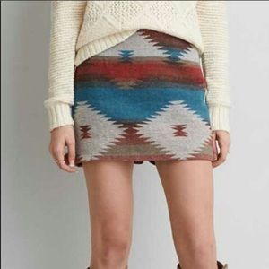 American Eagle Outfitters Skirts - American Eagle Aztec/Tribal Skit